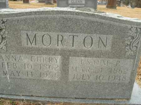 CURRY MORTON, ANNA - Boone County, Arkansas | ANNA CURRY MORTON - Arkansas Gravestone Photos