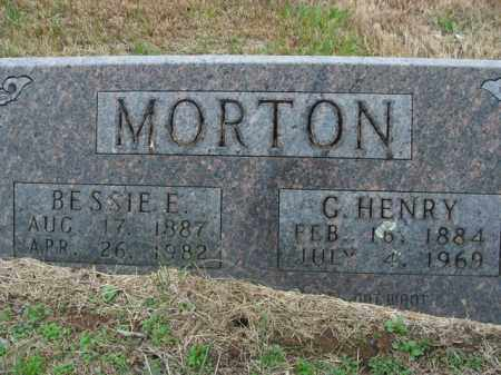 MORTON, G. HENRY - Boone County, Arkansas | G. HENRY MORTON - Arkansas Gravestone Photos