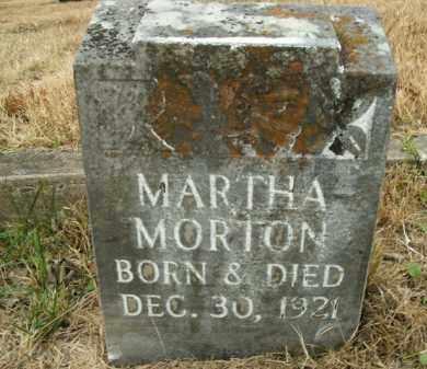 MORTON, MARTHA - Boone County, Arkansas   MARTHA MORTON - Arkansas Gravestone Photos
