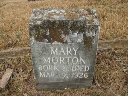 MORTON, MARY - Boone County, Arkansas   MARY MORTON - Arkansas Gravestone Photos