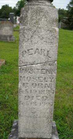 MOSELY, PEARL - Boone County, Arkansas | PEARL MOSELY - Arkansas Gravestone Photos