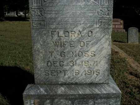 MOSS, FLORA O. - Boone County, Arkansas | FLORA O. MOSS - Arkansas Gravestone Photos