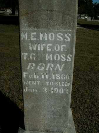 MOSS, MARY ELLEN - Boone County, Arkansas   MARY ELLEN MOSS - Arkansas Gravestone Photos