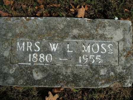 MOSS, PRUDIE IONA - Boone County, Arkansas | PRUDIE IONA MOSS - Arkansas Gravestone Photos
