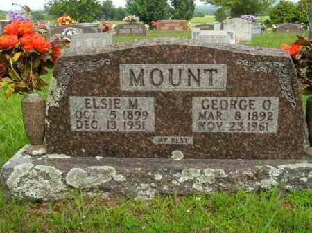 MOUNT, ELSIE MAE - Boone County, Arkansas | ELSIE MAE MOUNT - Arkansas Gravestone Photos