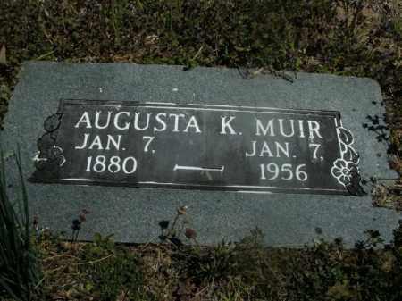 MUIR, AUGUSTA K. - Boone County, Arkansas   AUGUSTA K. MUIR - Arkansas Gravestone Photos