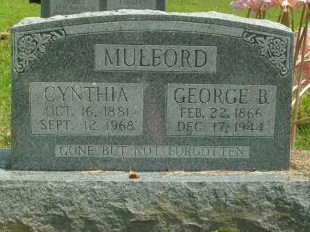 MULFORD, CYNTHIA - Boone County, Arkansas | CYNTHIA MULFORD - Arkansas Gravestone Photos