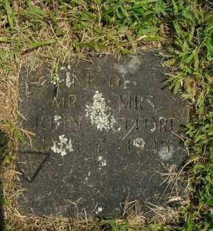 MULFORD, INFANT - Boone County, Arkansas   INFANT MULFORD - Arkansas Gravestone Photos