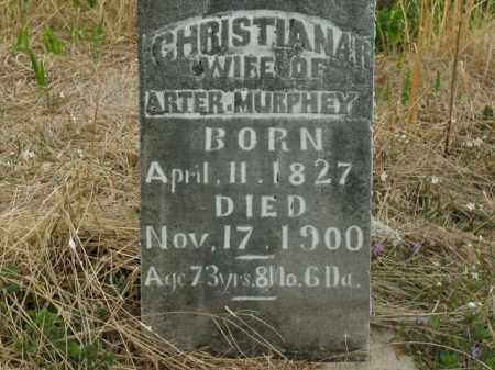 MURPHEY, CHRISTIANA R. - Boone County, Arkansas   CHRISTIANA R. MURPHEY - Arkansas Gravestone Photos