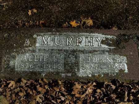 MURPHY, ALLIE L. - Boone County, Arkansas | ALLIE L. MURPHY - Arkansas Gravestone Photos