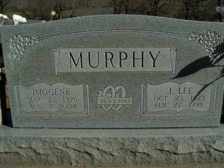MURPHY, IMMOGENE - Boone County, Arkansas | IMMOGENE MURPHY - Arkansas Gravestone Photos