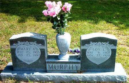 MURPHY, LOY  L. - Boone County, Arkansas | LOY  L. MURPHY - Arkansas Gravestone Photos