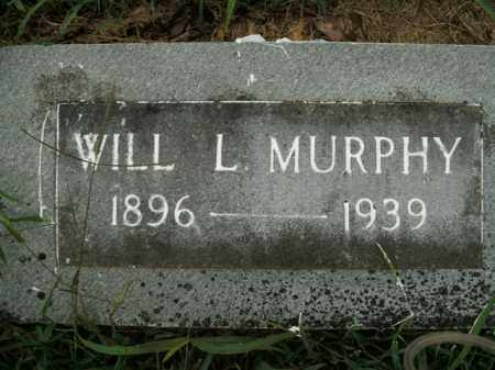 MURPHY, WILL L. - Boone County, Arkansas   WILL L. MURPHY - Arkansas Gravestone Photos