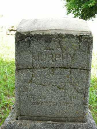 MURPHY, ZEBULON A. - Boone County, Arkansas   ZEBULON A. MURPHY - Arkansas Gravestone Photos
