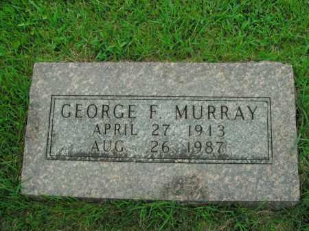 MURRAY, GEORGE F. - Boone County, Arkansas | GEORGE F. MURRAY - Arkansas Gravestone Photos