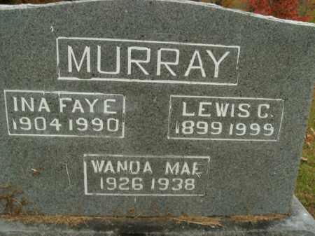 MURRAY, WANDA MAE - Boone County, Arkansas | WANDA MAE MURRAY - Arkansas Gravestone Photos