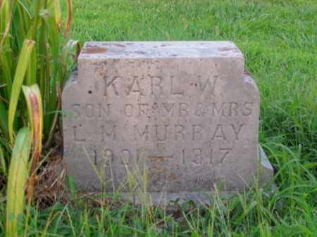 MURRAY, KARL W. - Boone County, Arkansas | KARL W. MURRAY - Arkansas Gravestone Photos