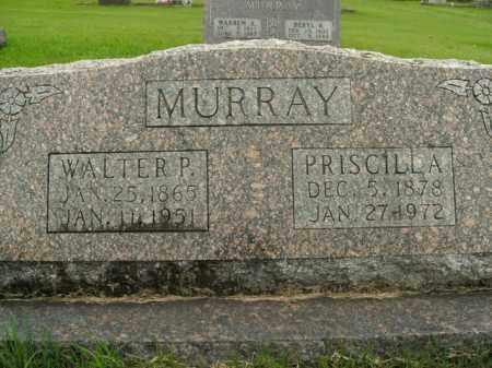 MURRAY, PRISCILLA - Boone County, Arkansas | PRISCILLA MURRAY - Arkansas Gravestone Photos