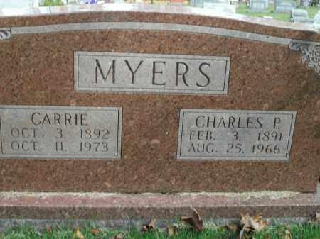 MYERS, CHARLES P. - Boone County, Arkansas | CHARLES P. MYERS - Arkansas Gravestone Photos