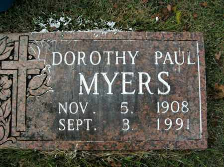 MYERS, DOROTHY - Boone County, Arkansas | DOROTHY MYERS - Arkansas Gravestone Photos