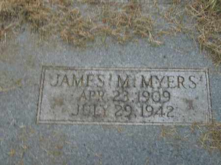 MYERS, JAMES M. - Boone County, Arkansas | JAMES M. MYERS - Arkansas Gravestone Photos