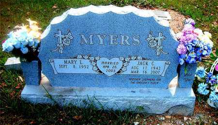 MYERS, JACK C - Boone County, Arkansas | JACK C MYERS - Arkansas Gravestone Photos