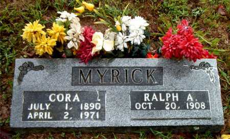 MYRICK, CORA - Boone County, Arkansas | CORA MYRICK - Arkansas Gravestone Photos