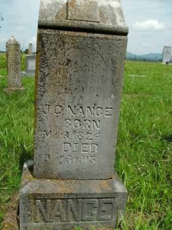 NANCE, J. C. - Boone County, Arkansas | J. C. NANCE - Arkansas Gravestone Photos