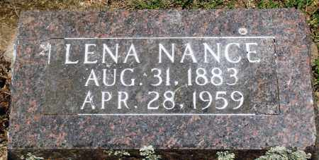NANCE, LENA - Boone County, Arkansas | LENA NANCE - Arkansas Gravestone Photos