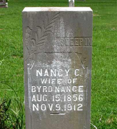 JENKINS NANCE, NANCY (CAMELIA) - Boone County, Arkansas   NANCY (CAMELIA) JENKINS NANCE - Arkansas Gravestone Photos