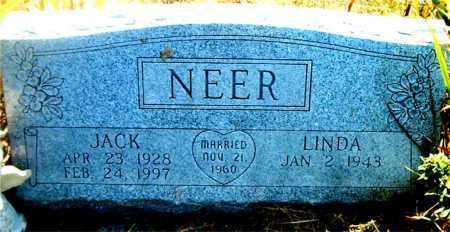 NEER, JACK - Boone County, Arkansas | JACK NEER - Arkansas Gravestone Photos