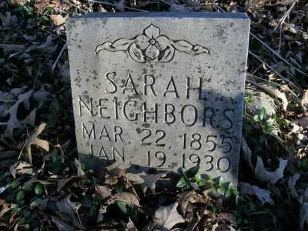 NEIGHBORS, SARAH - Boone County, Arkansas   SARAH NEIGHBORS - Arkansas Gravestone Photos