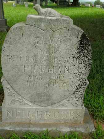 HICKMAN NEIGHBOURS, ELMO - Boone County, Arkansas | ELMO HICKMAN NEIGHBOURS - Arkansas Gravestone Photos