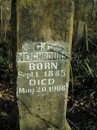 NEIGHBOURS, G.C. - Boone County, Arkansas   G.C. NEIGHBOURS - Arkansas Gravestone Photos