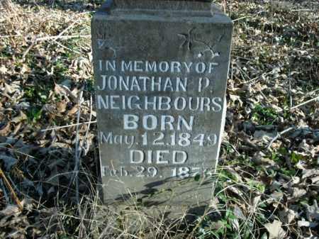 NEIGHBOURS, JONATHON P. - Boone County, Arkansas | JONATHON P. NEIGHBOURS - Arkansas Gravestone Photos