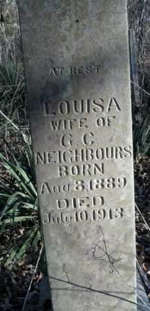 NEIGHBOURS, LOUISA - Boone County, Arkansas | LOUISA NEIGHBOURS - Arkansas Gravestone Photos