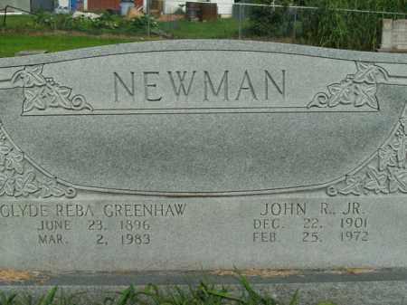 GREENHAW NEWMAN, CLYDE REBA - Boone County, Arkansas | CLYDE REBA GREENHAW NEWMAN - Arkansas Gravestone Photos