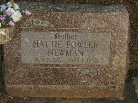 NEWMAN, HATTIE - Boone County, Arkansas | HATTIE NEWMAN - Arkansas Gravestone Photos