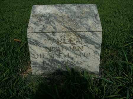 NEWMAN, MABLE ELIZABETH - Boone County, Arkansas | MABLE ELIZABETH NEWMAN - Arkansas Gravestone Photos