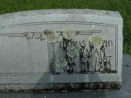 NEWMAN, THOMAS MURPHY - Boone County, Arkansas | THOMAS MURPHY NEWMAN - Arkansas Gravestone Photos