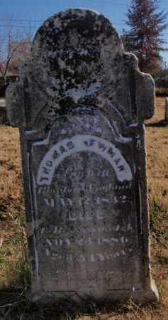 NEWMAN, THOMAS - Boone County, Arkansas | THOMAS NEWMAN - Arkansas Gravestone Photos