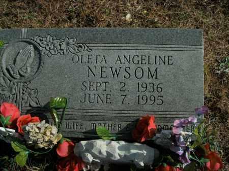 NEWSOM, OLETA ANGELINE - Boone County, Arkansas | OLETA ANGELINE NEWSOM - Arkansas Gravestone Photos
