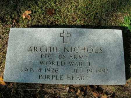 NICHOLS  (VETERAN WWII), ARCHIE - Boone County, Arkansas   ARCHIE NICHOLS  (VETERAN WWII) - Arkansas Gravestone Photos