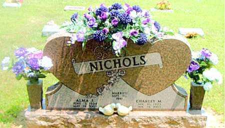 NICHOLS, CHARLEY  M. - Boone County, Arkansas | CHARLEY  M. NICHOLS - Arkansas Gravestone Photos