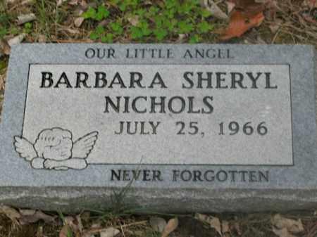 NICHOLS, BARBARA SHERYL - Boone County, Arkansas | BARBARA SHERYL NICHOLS - Arkansas Gravestone Photos