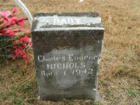 NICHOLS, CHARLES EUGENE - Boone County, Arkansas | CHARLES EUGENE NICHOLS - Arkansas Gravestone Photos