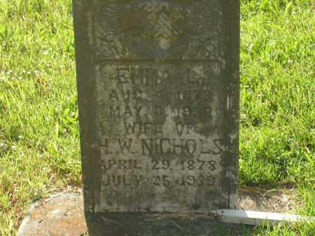 NICHOLS, H.W. - Boone County, Arkansas | H.W. NICHOLS - Arkansas Gravestone Photos