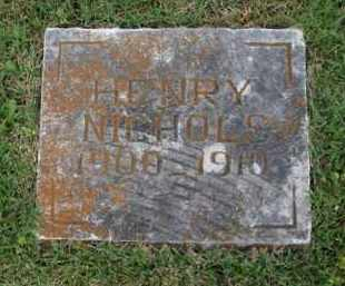 NICHOLS, HENRY - Boone County, Arkansas | HENRY NICHOLS - Arkansas Gravestone Photos
