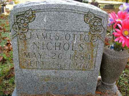 NICHOLS, JAMES OTTO - Boone County, Arkansas | JAMES OTTO NICHOLS - Arkansas Gravestone Photos