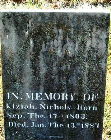 NICHOLS, KIZIAH - Boone County, Arkansas | KIZIAH NICHOLS - Arkansas Gravestone Photos